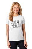 Can't Escape the Mamarazzi Cute Women's Shirt