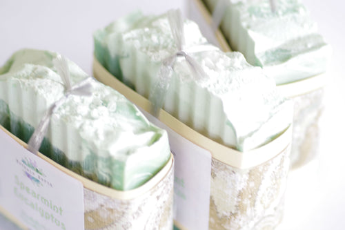 Spearmint Eucalyptus Essential Oil Soap