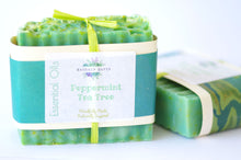 Peppermint Tea Tree  Essential Oil Soap