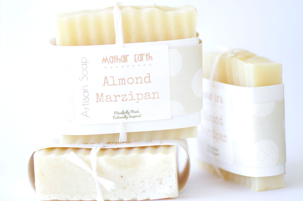Almond Marzipan Bar Soap