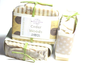 Cedar Woods Essential Oil Soap
