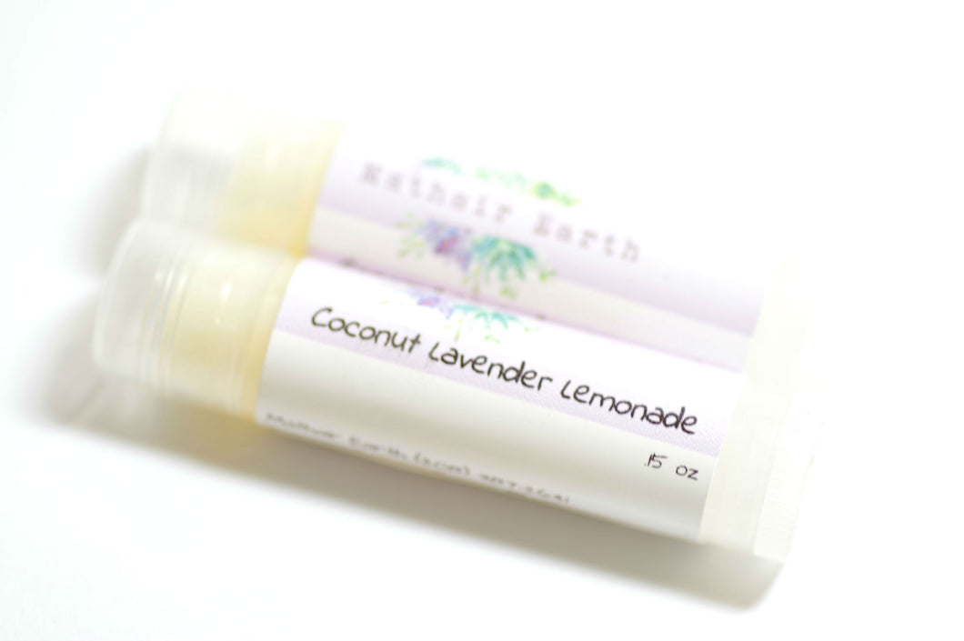 Coconut Lavender Lemonade Lip Balm