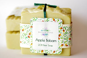 Apple Balsam  Beer Soap