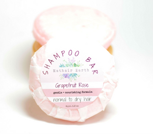 Grapefruit Rose Shampoo Bar