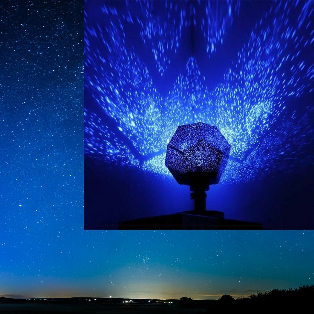 Smart Living Blue Galaxy Lamp  Starry Night Projector Online Shop Market