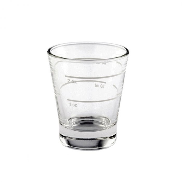 Italian made 60 ml/ 2 oz espresso shot glass