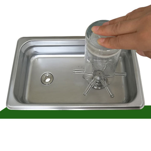 Jug and Cup Rinser and wash sink