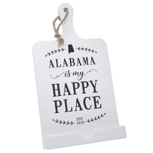 Wooden Cookbook Holder - Alabama