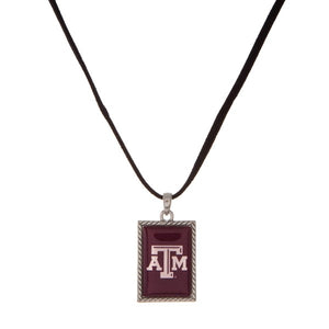 "Texas A&M 16"" Necklace"