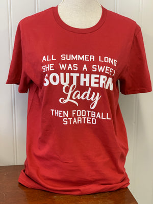 Southern Lady Short Sleeve T-Shirt