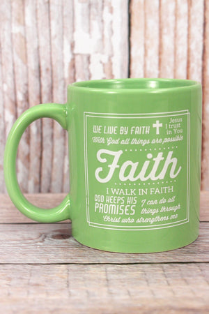 Messages of Faith Ceramic Mug