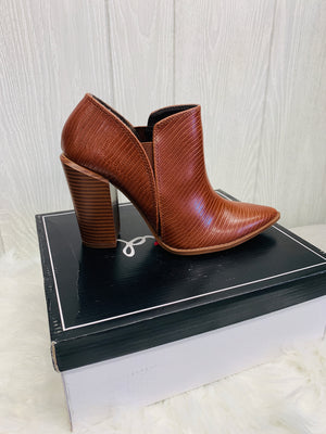 Brown Lizard Bootie