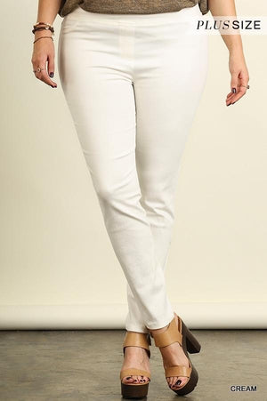 Leggings with Elastic Waistband - Curvy