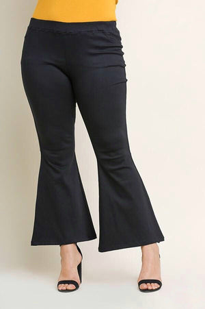 Stretch Bell Bottom Pants