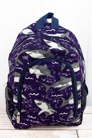 Fintastic Sharks Backpack - Small