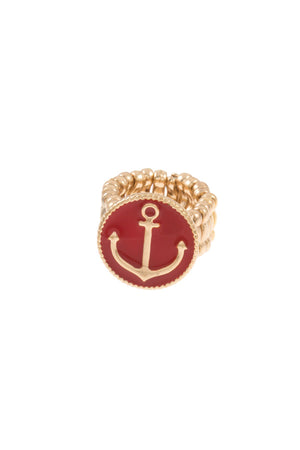 Anchor Accent Ring