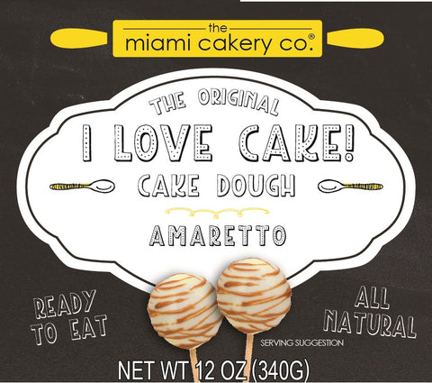 I Love Cake! The Original Cake Dough Amaretto