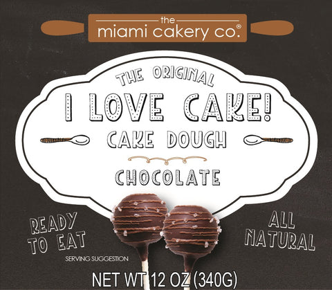 I Love Cake! The Original Cake Dough Chocolate