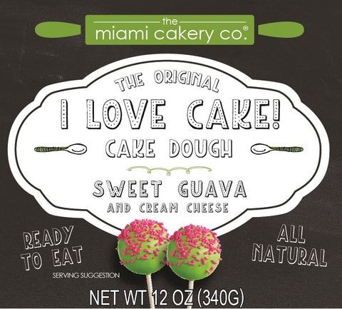 I Love Cake! The Original Cake Dough Sweet Guava & Cream Cheese