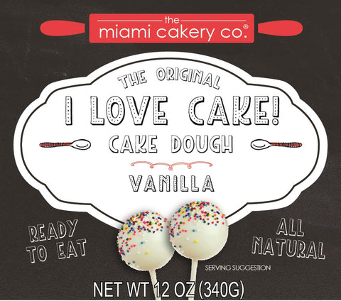 I Love Cake! The Original Cake Dough Vanilla