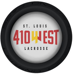410 West Lacrosse Stick Black End Cap