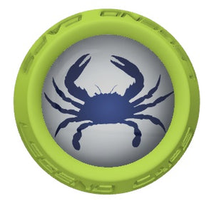 Blue Crabs Lacrosse Stick Lime End Cap