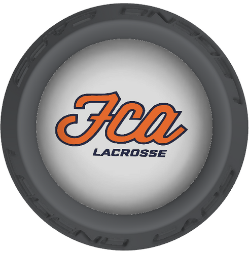 FCA Lacrosse Stick Gray End Caps