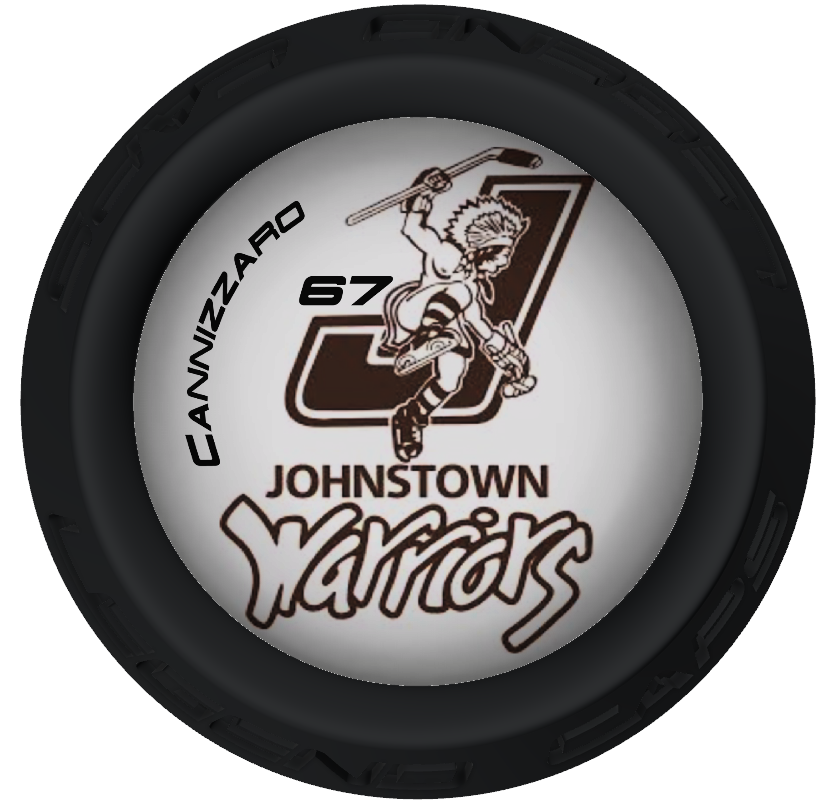JOHNSTOWN WARRIORS HOCKEY STICK LEGEND CAPS