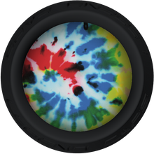 Tie Dye Lacrosse Stick Black End Cap
