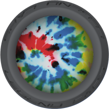 Tie Dye Lacrosse Stick Gray End Cap