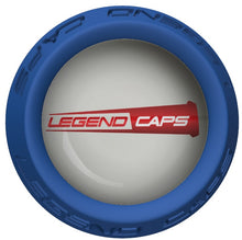 Custom Blue Lacrosse Stick End Cap