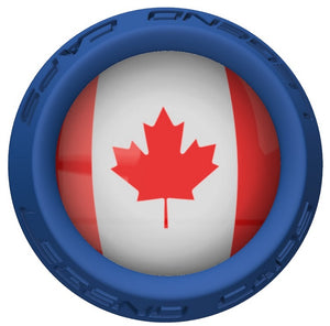 Canada Lacrosse Stick Blue End Cap