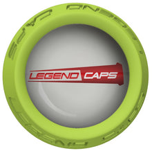 Custom Lime Lacrosse Stick End Cap