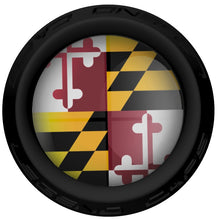 Maryland Lacrosse Stick Black End Cap