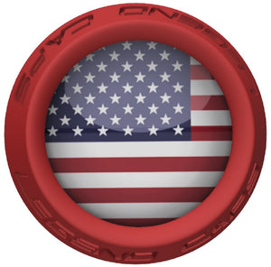 USA Lacrosse Stick Red End Cap