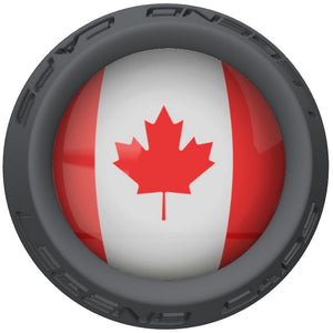 Canada Lacrosse Stick Gray End Cap