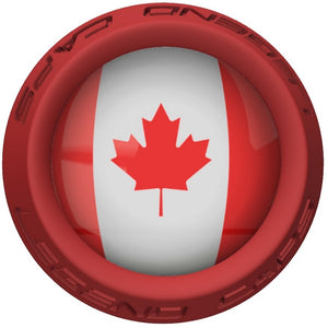 Canada Lacrosse Stick Red End Cap