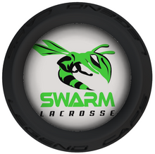 Swarm Lacrosse Stick Black End Caps