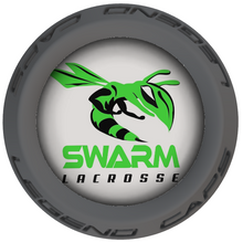 Swarm Lacrosse Stick Gray End Caps
