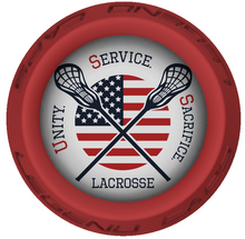 USS Lacrosse Stick Red End Cap