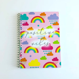 Positive vibes planner