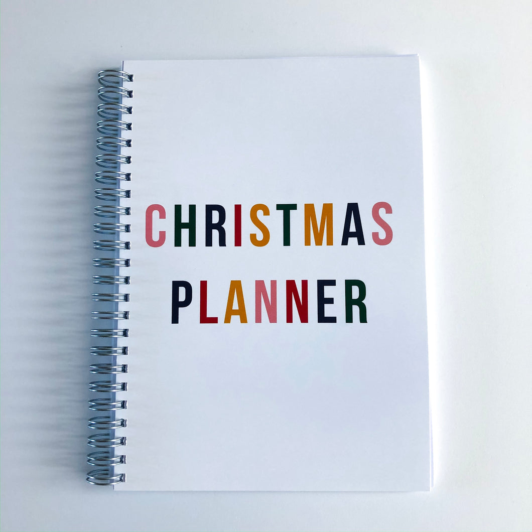 Christmas Planner - Colourful Christmas