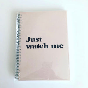 Just watch me food diary