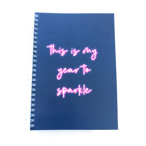 This is my year sparkle Planner