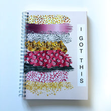 Leopard print paint splash 'I got this' Planner