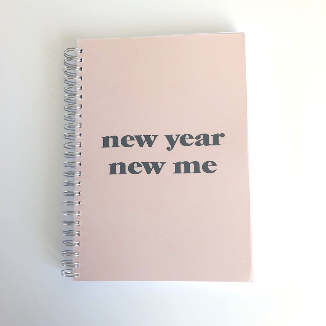 New year new me planner