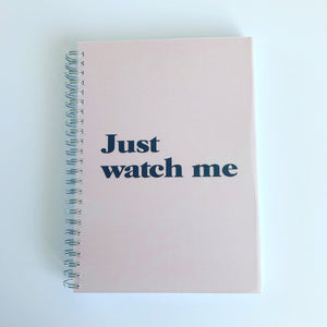 Just watch me planner