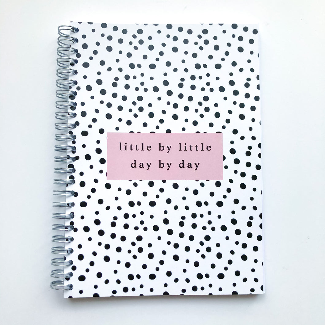 Little by little Dalmatian spot Planner