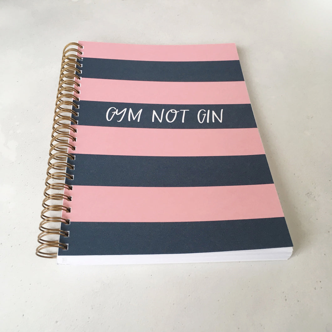 Gym not gin planner