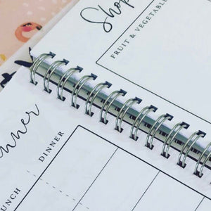 Work hard, dream big planner